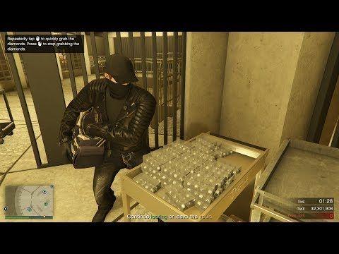 Gta Online Casino Heist Stealing Diamonds 3 619 000 Silent Sneaky Elite Hard Mode Youtube Grand Theft Auto Games Online Casino Retro Gaming
