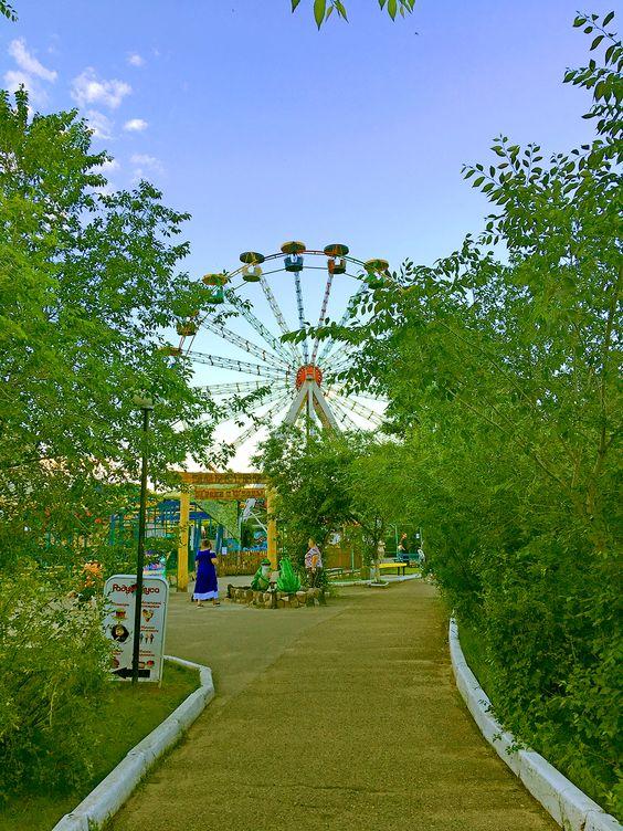 Колесо обозрения в парке ОДОРА, г. Чита. Фото: Evgenia Shveda