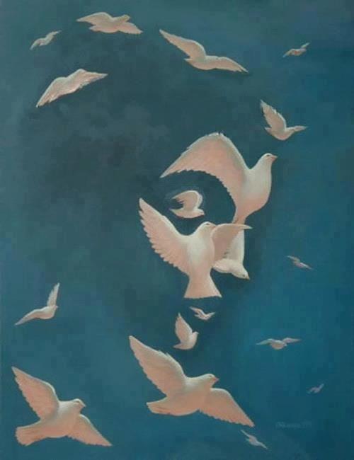 Octavio Ocampo Surreaismus Illusion Kunst Optische Illusionen