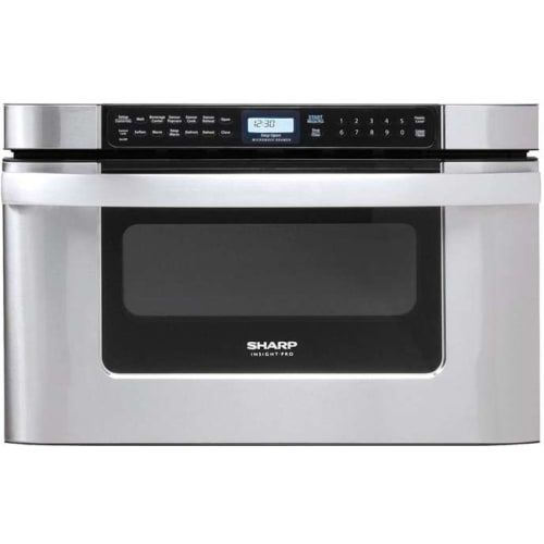Kb6524psy By Sharp Drawer Microwaves Goedekers Com Microwave Drawer Built In Microwave Sharp Microwave Drawer