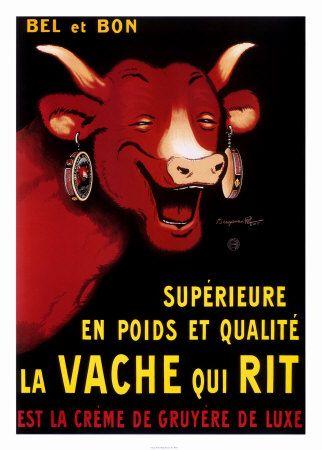 Benjamin Rabier (1864-1939) – La Vache Qui Rit (1920)