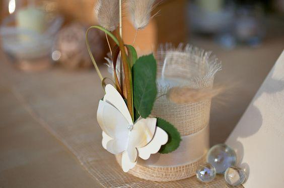 Schmetterlinge können ein schöner Bestandteil eurer Tischdeko bilden. Schaut vorbei und entdeckt Beispiele...