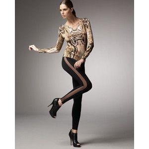 Image result for sheer leggings
