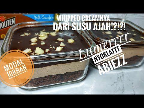 Dessert Box Coklat Bonus Resep Whipped Cream Homemade Youtube Di 2020 Makanan Pudding Desserts Makanan Penutup