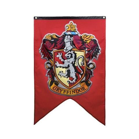 Harry Potter Gryffindor Slytherin Hufflepuff Ravenclaw Flag Banners Harry Potter Hogwarts Houses Gryffindor Crest Gryffindor
