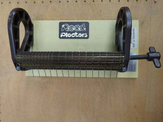 Smocking machine for gathering fabric ready for hand smocking 11.7.14