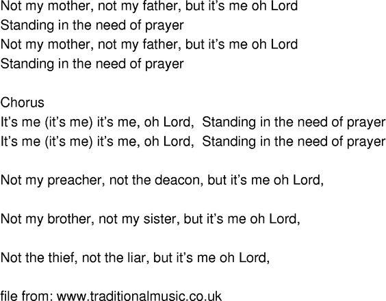 When i prayed through lyrics