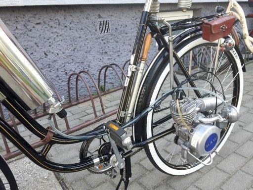 Moto Rower Nsu Z Silnikiem Maw 7425286542 Oficjalne Archiwum Allegro Moto Bicycle Allegro