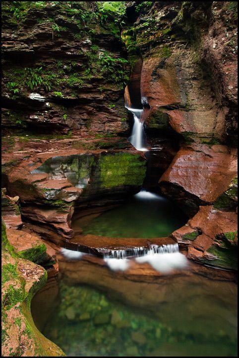 """Swimmin' Hole"" - Adams Falls, Ricketts Glen State Park, Pennsylvania - Such a beautiful place!!"