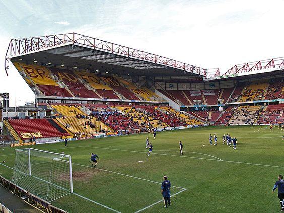 Valley Parade, Bradford City's ground