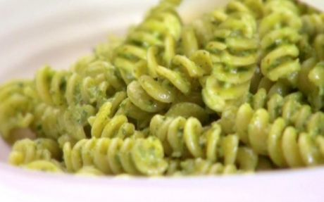 Fusilli with spicy pesto Recipe by Giada De Laurentiis