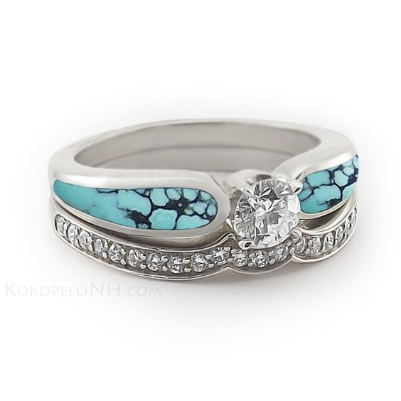 Nice Chinese Wedding Ring With Sky Radiance