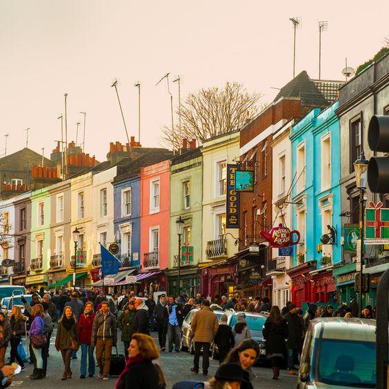 Portobello Road Market, London