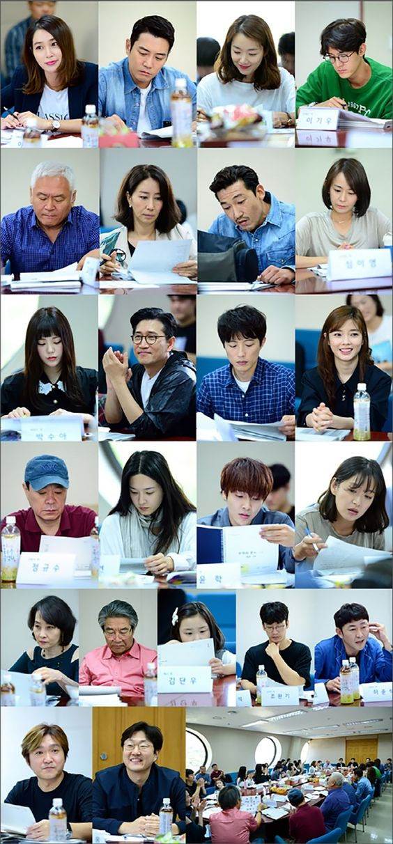 Lee Min Jung And Joo Sang Wook's New Drama Reveals Photos From First Script Reading