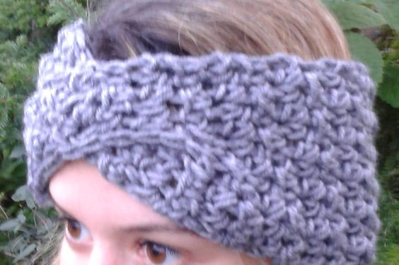 crocheted chunky and more crochet turban for her hair hair accessories ...