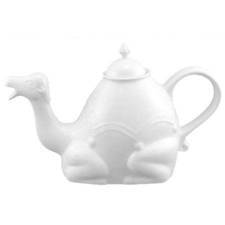 Amazon.com: 30-oz. Camel Teapot - White: Kitchen & Dining