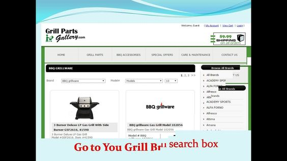 Grill Parts Gallery Is An Online Replacement Barbecue Parts Store We Are Canadian Owned With Warehouses In Usa And Canad Grill Parts Bbq Parts Bbq Grill Parts