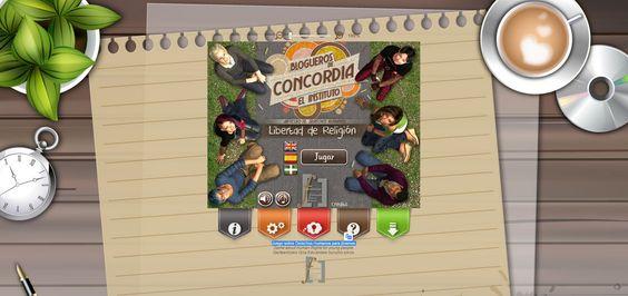 Crea y aprende con Laura: Concordia. Un serious game sobre Derechos Humanos