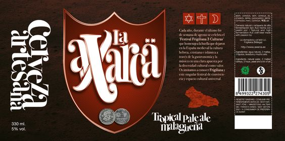 Cerveza artesana malagueña / Artisan beer, made in Málaga, by @LaAxarca