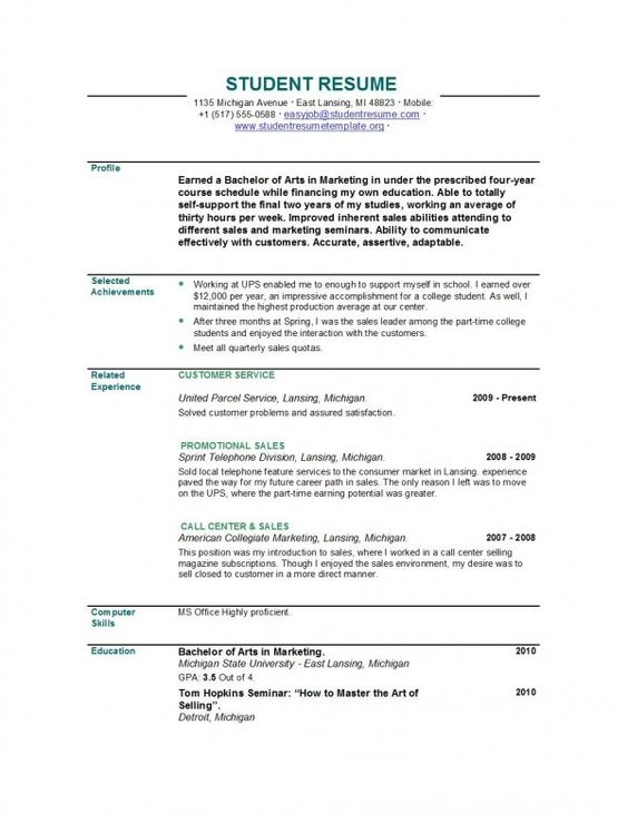 Recent Graduate Resume gallery of sample recent graduate resume Resume Examples Recent Graduate Google Search