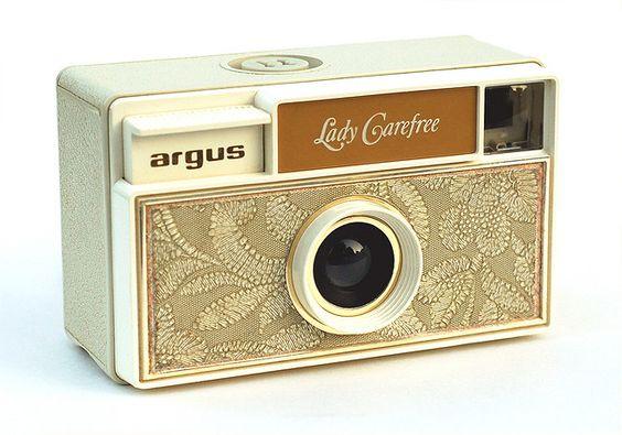 Vintage Camera Argus Lady Carefree at http://www.flickr.com/photos/kratz/1806297604/in/faves-vegacecilia/  #vintage #retro #camera