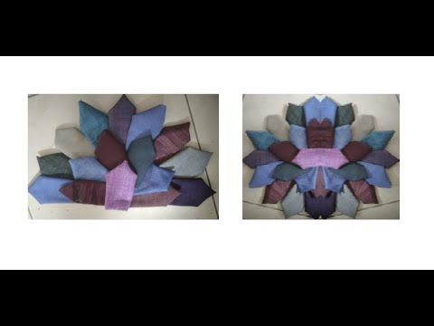 प र न कपड क सबस हटक इस त म ल द खन न भ ल Idea From Old Clot Door Mat Flower Shape Shapes