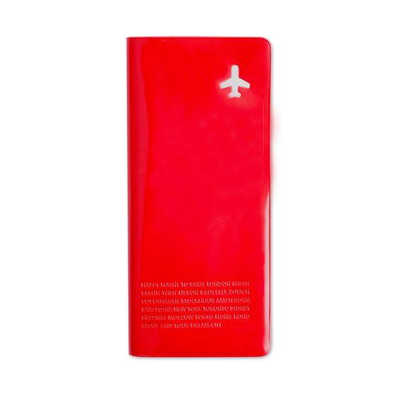 Besoin d'un seul portefeuille pour tous vos papiers? Un organisateur de voyage est fait pour ça! Vous pouvez y ranger votre passeport, votre cartes d'embarquements et même vos billets. http://www.deco-et-saveurs.com/maroquinerie/4619-organisateur-de-voyage-rouge-alife-design-8809195986968.html