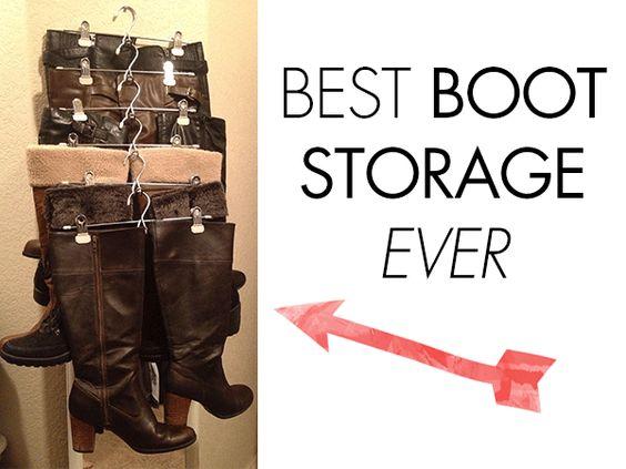 Great Boot Storage | Organization | Pinterest | Boot Storage, Storage And  Organizations