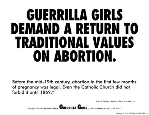 traditional values on abortion