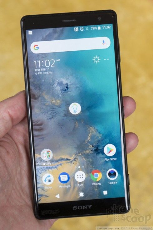 Hands On With The Sony Xperia Xz2 And Xz2 Compact Sony Xperia Phone Design Sony