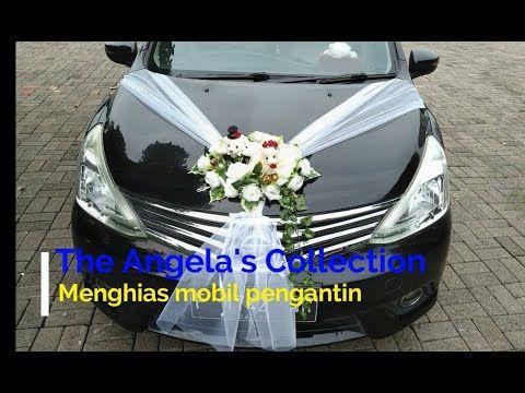 Dekorasi Mobil Pengantin Wedding Car Decoration Youtube Mobil Pernikahan Pengantin Mobil