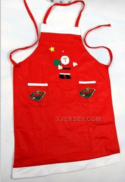 http://www.xjersey.com/wild-nhl-logo-christmas-apron.html Only$24.00 WILD NHL LOGO CHRISTMAS APRON #Free #Shipping!