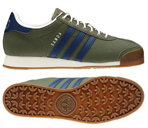 adidas samoa blue and green