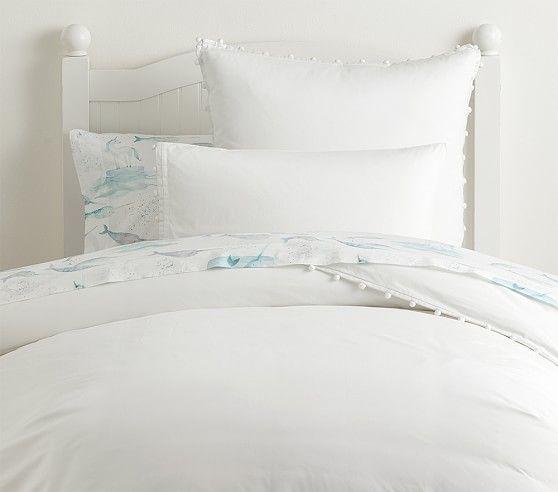 Pom Pom Duvet Cover With Images Kids Duvet Cover Bed Linens