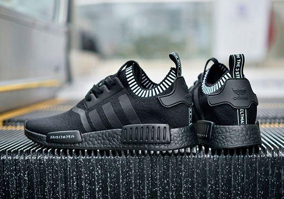 "adidas NMD ""Japan"" Uses Black Boost | SneakerNews.com || Follow @filetlondon for more street wear #filetlondon"