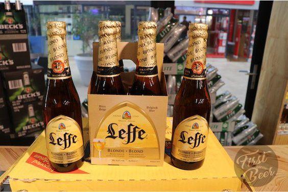 bia bỉ leffe vàng