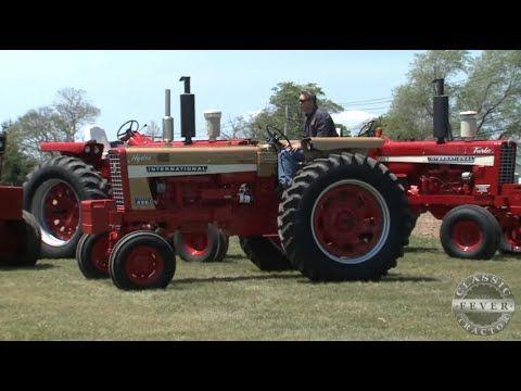 Family Has A Fleet Of International Golden Demonstrators International Harvester 1026 Hi International Harvester Tractors International Harvester Harvester