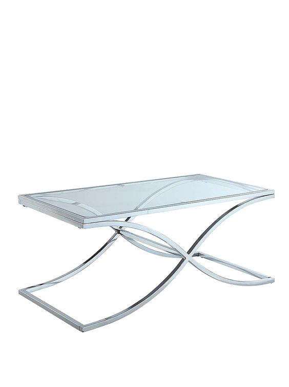 laurence mercury chrome and glass coffee table clear verycouk glass coffee tables pinterest coffee glass tables and glass