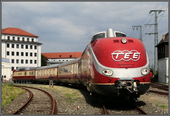 Trans Europ Express   DB Museum Nürnberg