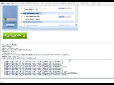 Toshiba satellite c850 drivers for windows 7 32 bit | download.