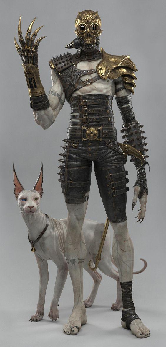 http://www.zbrushcentral.com/showthread.php?189678-Steampunk-Cyborg #steampunk #cyborb #man: