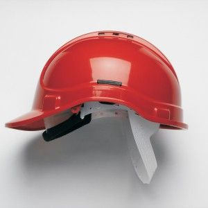 Style 300 Vented Red with Sweatband (HC300VSB)