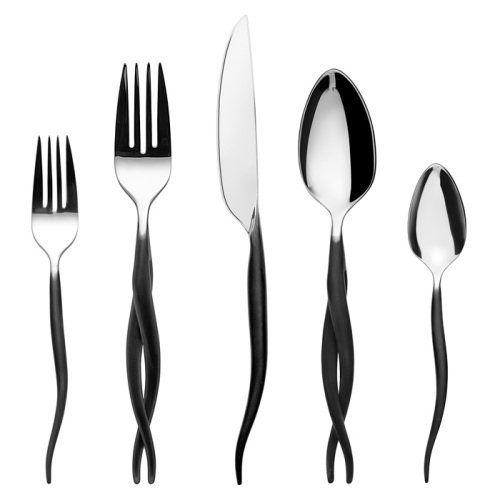 Flatware entertaining and luxury on pinterest - Gourmet settings flatware ...