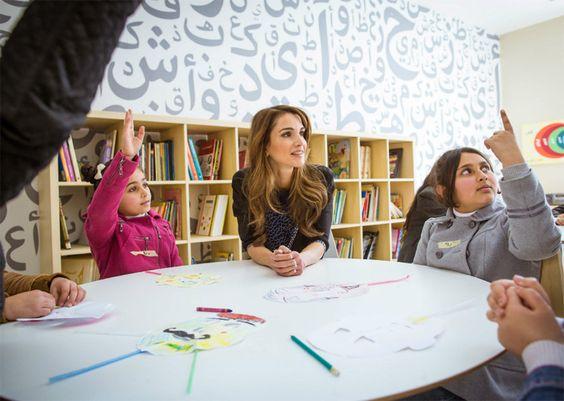 Exclusiva en HOLA.com: las imágenes nunca vistas de Rania de Jordania en su 45º cumpleaños - Foto 15