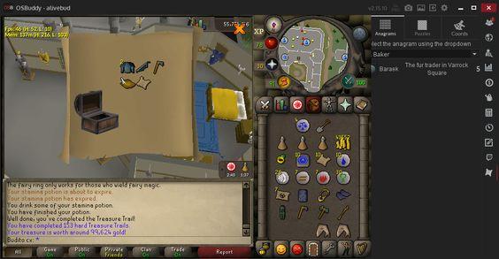 Master clue reward from a Hard clue?