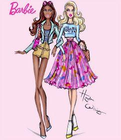 #Hayden Williams Fashion Illustrations: #Barbie Style: BFF by Hayden Williams