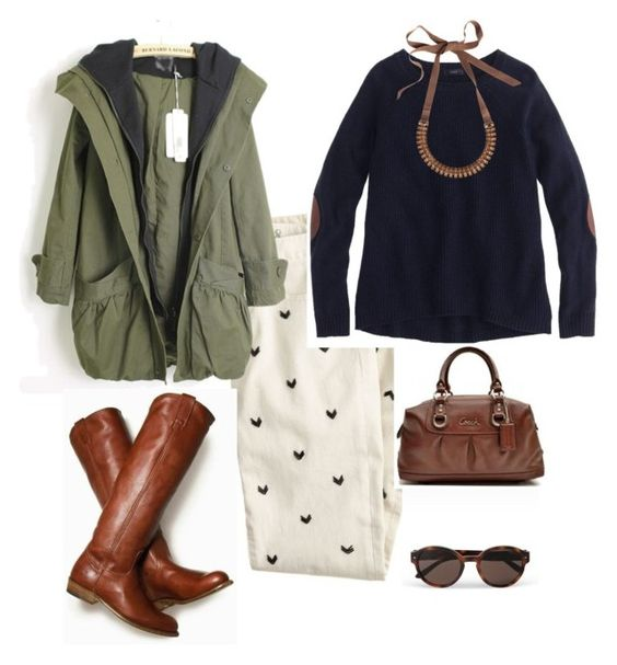 """""""Untitled #5"""" by applebean ❤ liked on Polyvore featuring J.Crew, Lanvin and Giorgio Armani"""