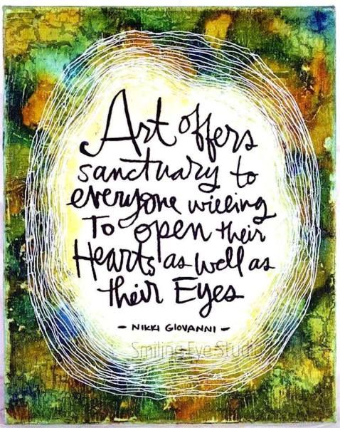 Art Therapy Quote