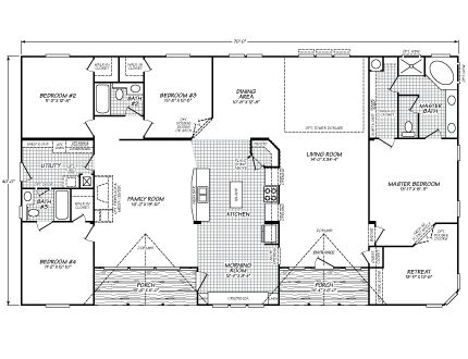 Fleetwood mobile home floor plans and prices fleetwood for 5br house plans