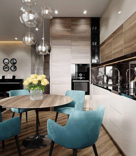 Table Ronde Deco Cuisine Avec Images Cuisine Moderne
